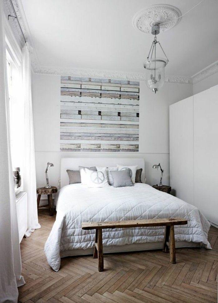 Scandinavian design and natural wood floor