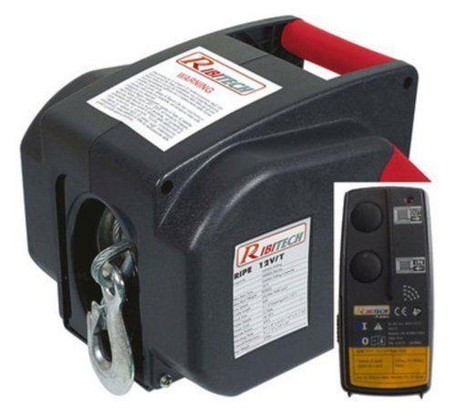 Treuil electrique 12 V avant/arriere avec télécommande sans fil REF RIPE12VT: Treuil électrique Treuil électrique 12 V avec marche avant et…