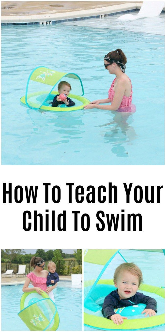 How To Teach Your Child To Swim Teach Kids To Swim Swim Lessons Practical Parenting
