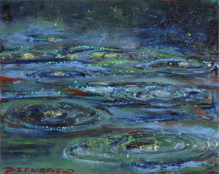 Saatchi Online Artist: Diane Fairfield; Mixed Media, Painting Times of Refreshing