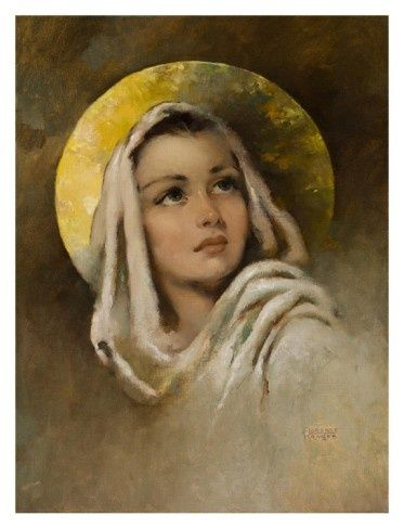 """""""Mary"""", painting by Florence Kroger"""
