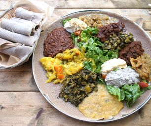 Intro to Ethiopian Food & DIY Injera - genius step by step instructions to make injera