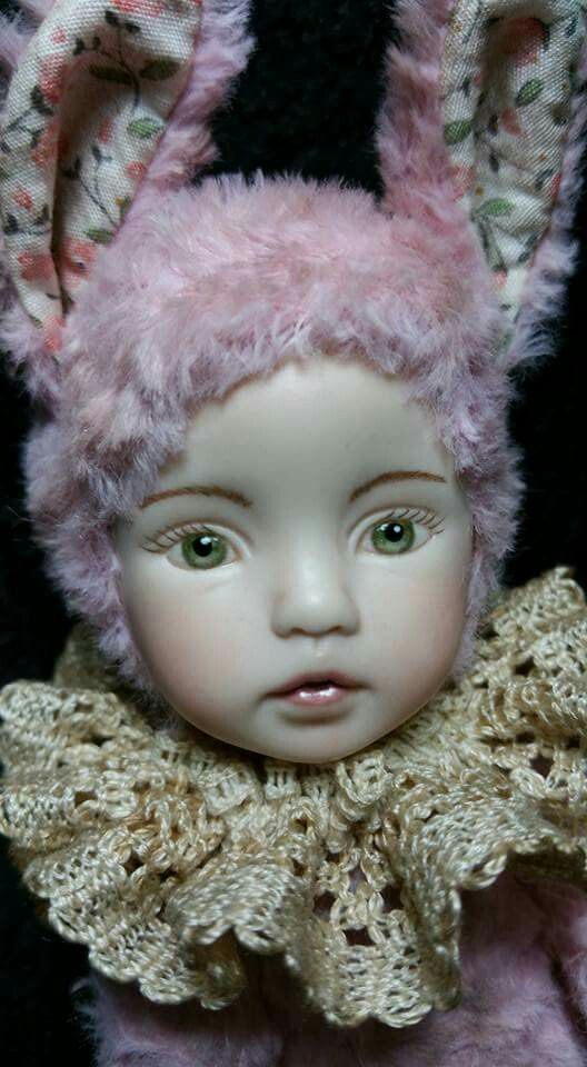 Bunny doll Queen made by Esther Lee