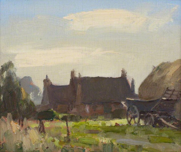 Edward Brian Seago, Corner of the Stackyard