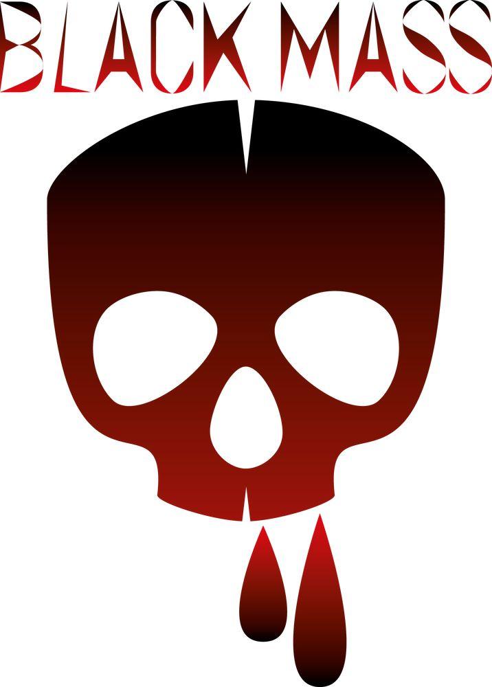 Logo Black Mass – Jefferson rosier Graphiste