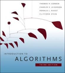 Introduction to algorithms book.  I want the 4th edition.