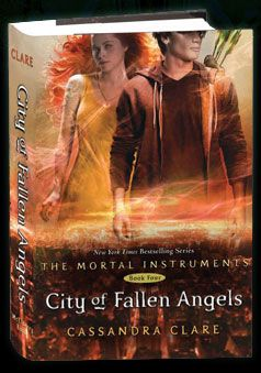TMI 4: Angel And Demons, Clare Books, Cities Books, Angel Books, Awesome Books, Fallen Angel, 4Th Books, Angels And Demons, Books Com