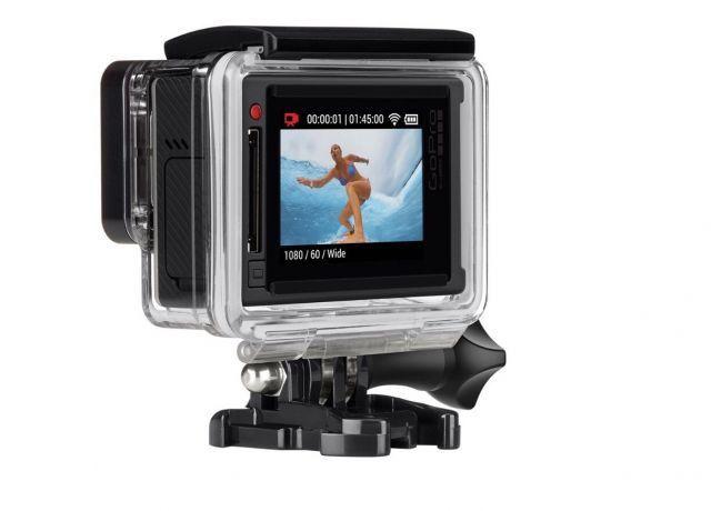 GoPro Hero 4 Silver LCD