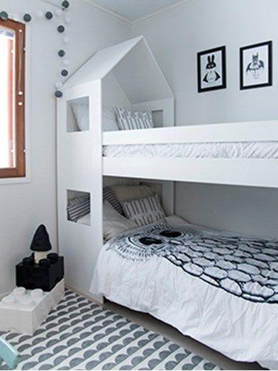 DIY: Sängynpääty lasten kerrossängylle