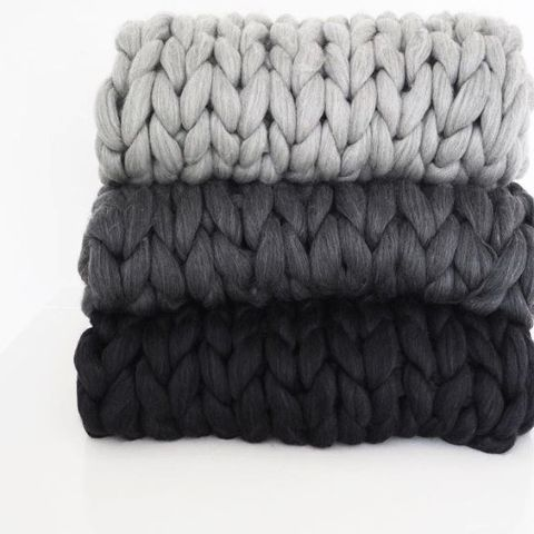Chunky blanket by FILLOWS Medium – Fillows