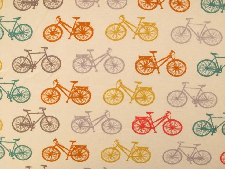 Fabric Godmother - Bike It Organic Cotton Jersey - Multi, £16.00 (http://www.fabricgodmother.co.uk/bike-it-organic-cotton-jersey-multi/)