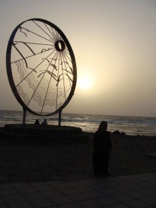View of the Red Sea Jeddah Saudi Arabia