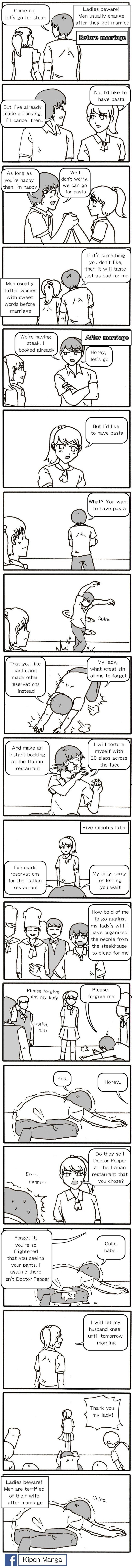 Kipen Manga - Marriage