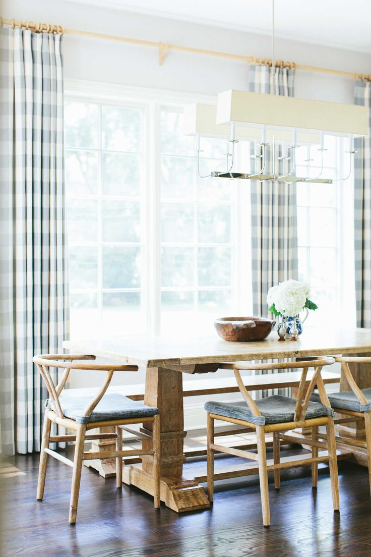 Light collaborating with wooden materials in the living dinning room - Find This Pin And More On Dining Rooms