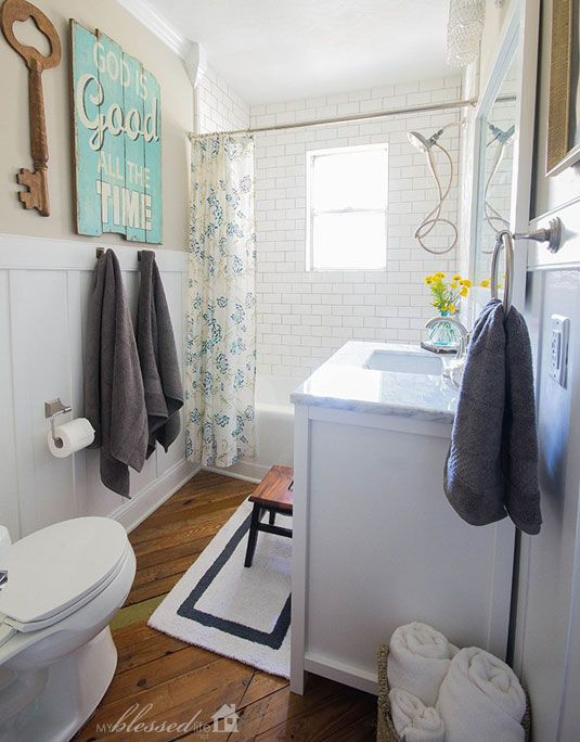 17 best ideas about cottage style bathrooms on pinterest for Cottage bathroom ideas renovate