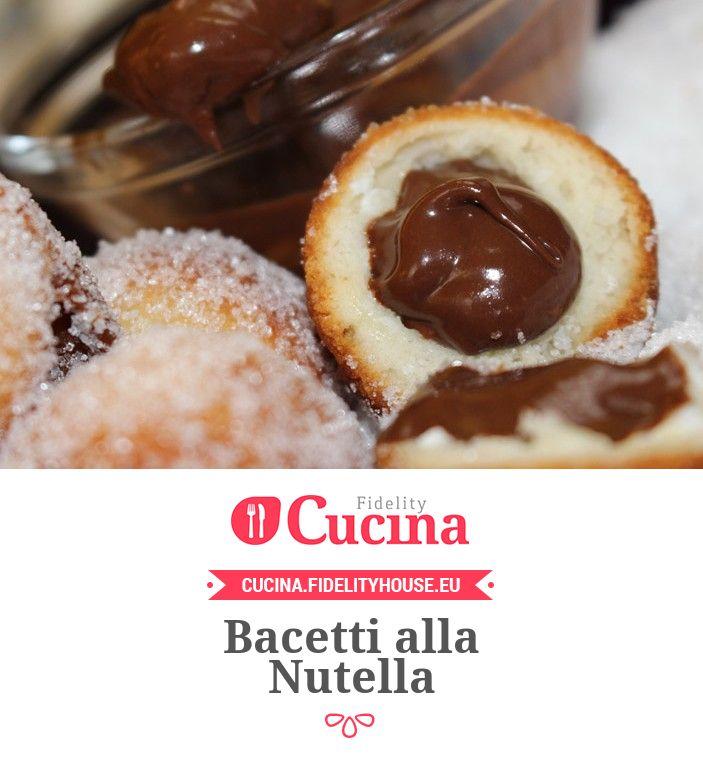Bacetti alla Nutella della nostra utente Daniela. Unisciti alla nostra Community ed invia le tue ricette!