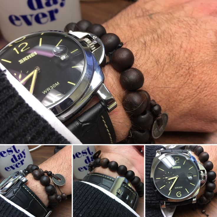 I love Panerai watches but not the price. So, to avoid buying a replica/copy, I'm looking for companies that create homages yet stand on the their own right. This is the Skmei 1124, an homage to the Panerai 1950.