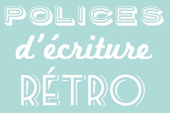 police-d-ecriture-retro-une                                                                                                                                                      Plus