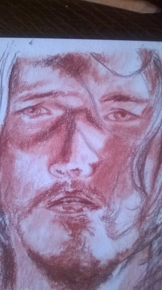 Dal film Jesus Christ Superstar sanguigna su carta