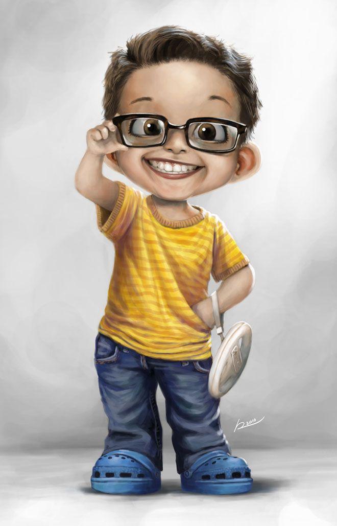 boy digital art by salvador. Read Full article: http://webneel.com/webneel/blog/56-best-adobe-photoshop-video-tutorials-collection-it-time-learn-hidden-tools | more http://webneel.com/photoshop-tutorials . Follow us www.pinterest.com/webneel
