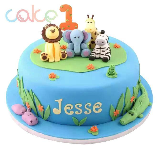 25+ Best Ideas About Zoo Cake On Pinterest