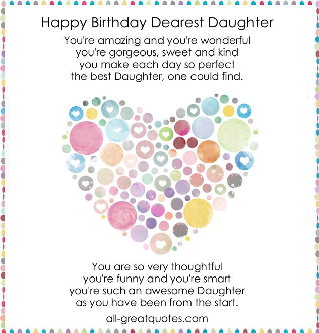 21 best birthday quotes for a daughter images on pinterest my daughter birthday bookmarktalkfo Images