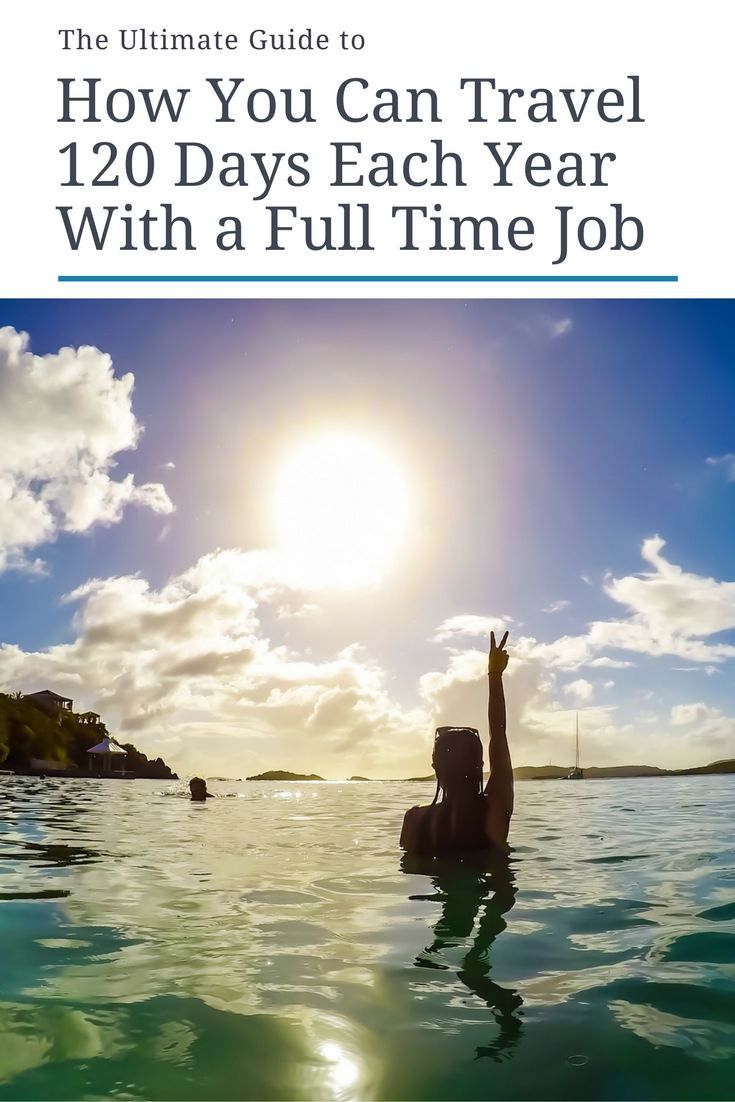 Great news: If you love travel and love your career, you can have both! If I can travel 120 days each year as an attorney working in the country with the worst vacation policy, then so can you. Click through now to find out how or pin for later!