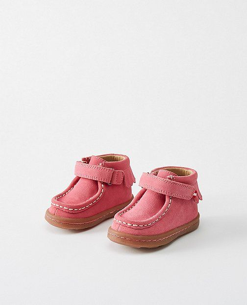 Baby Haskell Wallabees By Hanna from #HannaAndersson.
