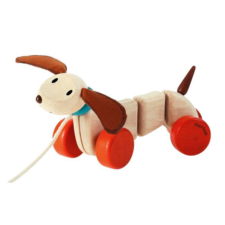 PlanToys Nachziehtier Happy Puppy, 20,90 €