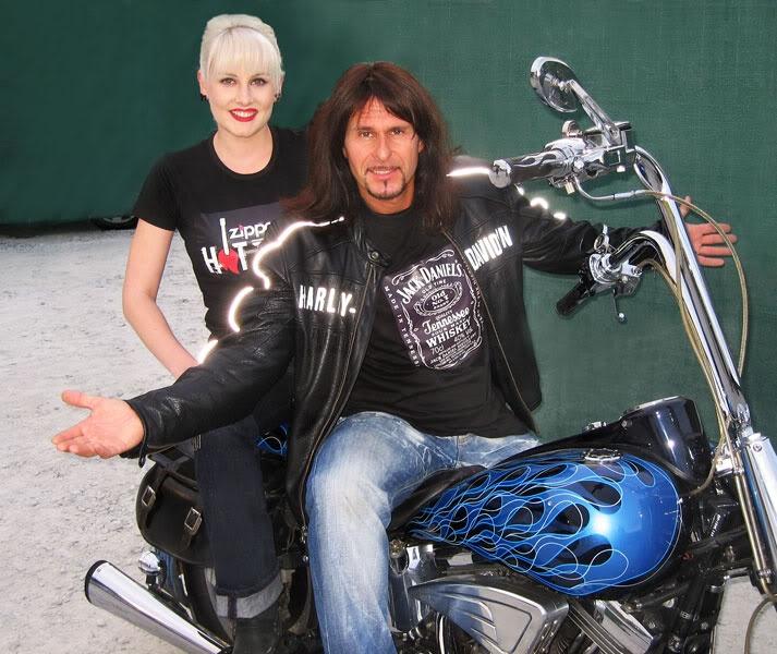 Steve Lee ( RIP! )_ Gotthard + Zoe Scarlett