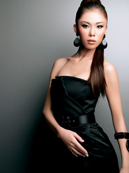 Riyo Mori. She is a champion of the Miss universe world meeting of 2007.