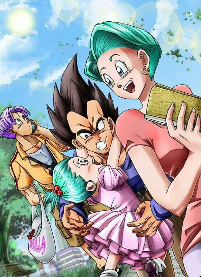 Vegeta with family...I love this