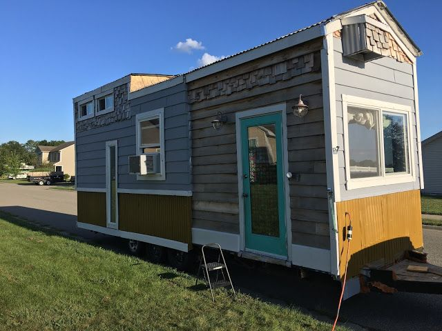 A Unique  Sq Ft Tiny House For Sale In Southern Indiana Unique Styles Pinterest Tiny
