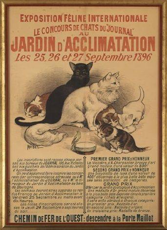 Exposition feline internationale le concours de chats du journal au jardin d 39 acclimatation les - Eloigner les chats du jardin ...
