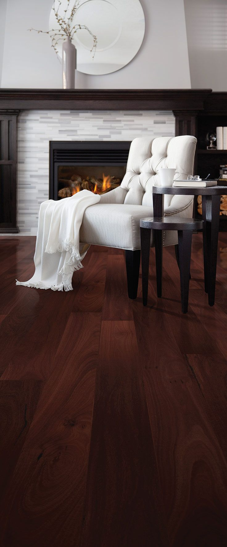 Godfrey Hirst | timber flooring | Get the look with Timber Naturals in Jarrah #godfreyhistflooring #godfreyhirst #flooring #jarrah #timber #interiors #homedecor