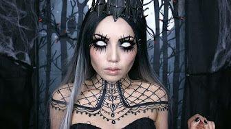 Demon Moon Elf ☾ Makeup Tutorial - YouTube