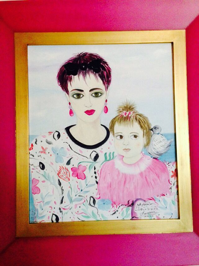 Susana Esteban Ferreiro óleo sobre lienzo.