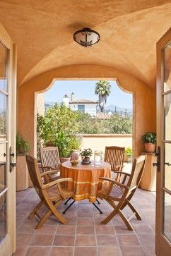Patio Tuscan Style Floors Design Pictures Remodel Decor And Ideas