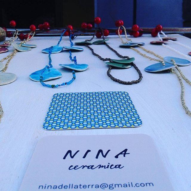 Tantofreddomercatinoasusa #ninaceramica #gioielli #ceramica #noel #Natale