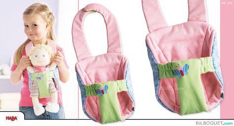 Porte-bébé Luca - Accessoire pour poupées 40 cm Haba - Je me promène - Accessoires pour poupées - Poupées, peluches, mode et accessoires