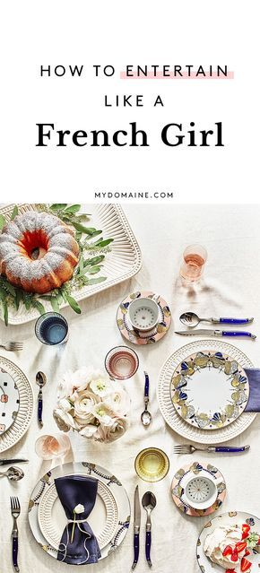 How to Set Your Table Like the French