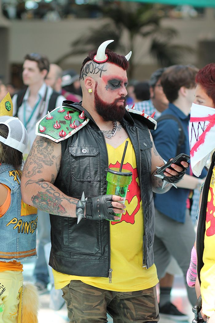 wondercon cosplay bowser
