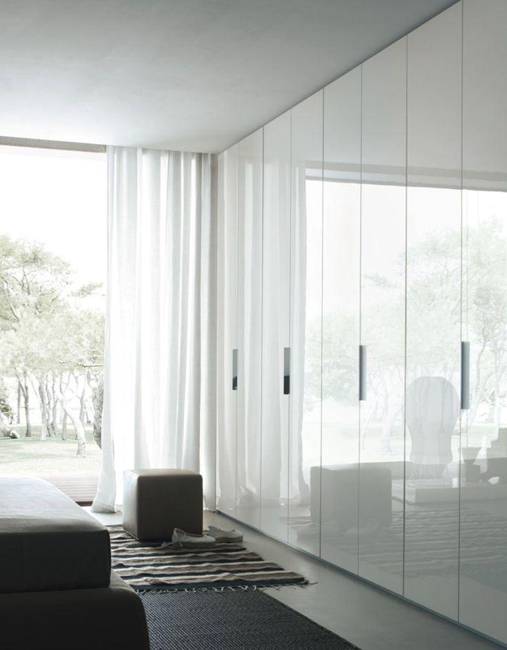 LIKE THE LOOK OF FLOOR TO CEILNG DOORS . ( TIMBER BEDROOM HALLWAY DOOR IN THE GREY OAK.)<#<3<3 sheer linen curtain recessed brackets in ceiling