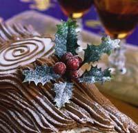 Французское рождественское полено , пошаговый рецепт с фото