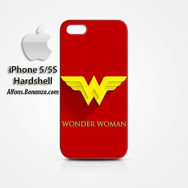 Wonder Woman Superhero iPhone 5 5s Hardshell Case