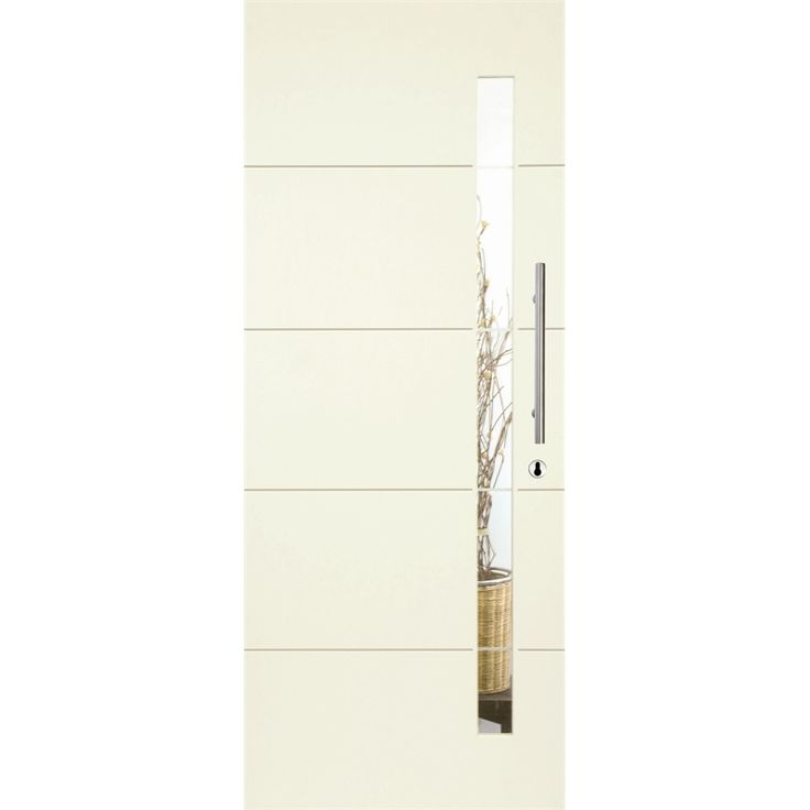 Linear Entrance Door w/ Frosted Glass XLR120 (2340x920)