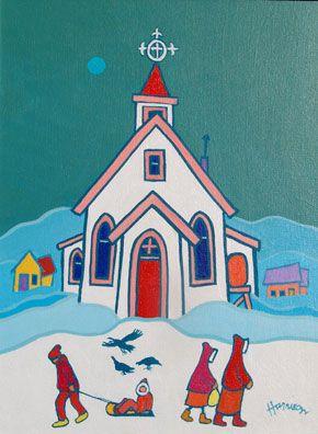 Ted Harrison - Yukon Dreams - Two