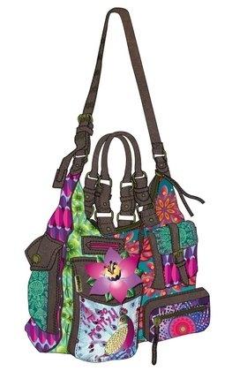 Desigual Bag Multicolor London Peacock