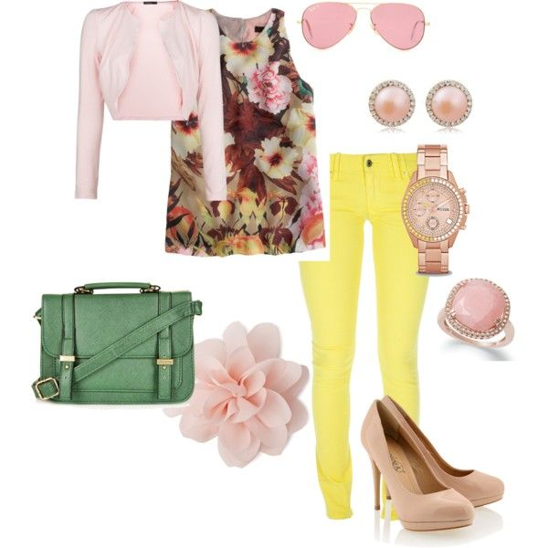 """work"" by agnesvanliere on Polyvore"