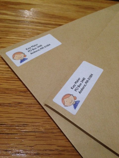 Custom Return Address Labels  Family Address Labels